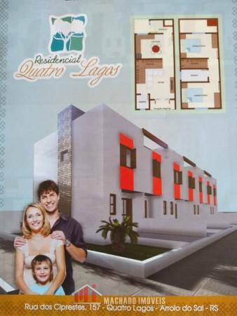 Sobrado 2 dormitórios em ARROIO DO SAL  | Ref.: 1607